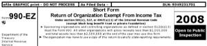 IRS Form 990EZ