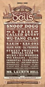 Rock The Bells 2010 Flyer