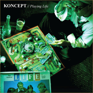 Koncept - Playing Life album cover art