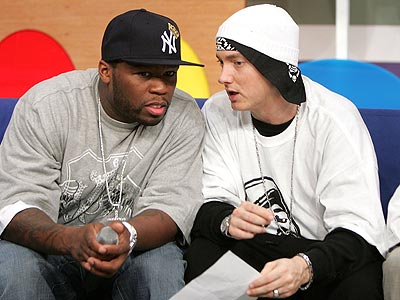 50cent and eminem: