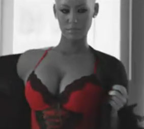 Amber Rose in Fabolous' video for You Be Killin' Em