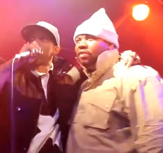 Raekwon at the Notorious BIG Tribute concert at Santos Party House, NYC