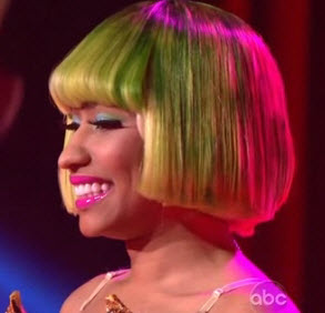 Nicki Minaj performs Moment 4 Life on Dancing With The Stars - Video