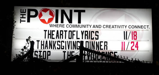 The Art of Lyrics at The Point CDC in The Bronx