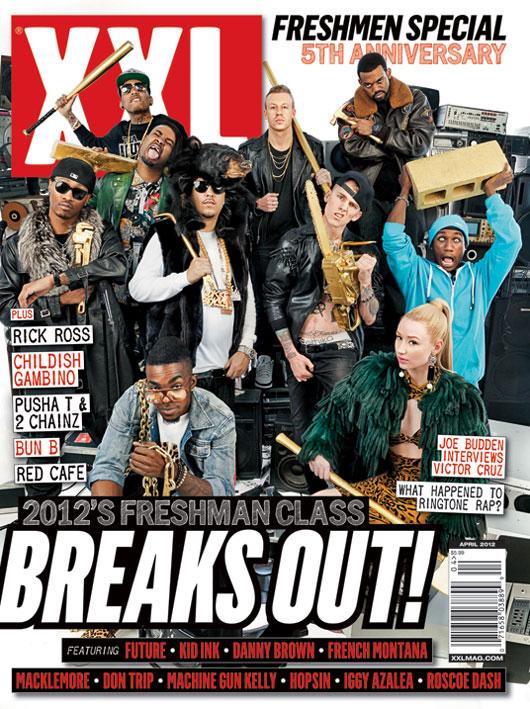 XXL Freshmen Class - Cover Art