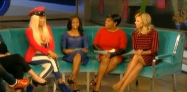 Nicki Minaj on The View (Video)