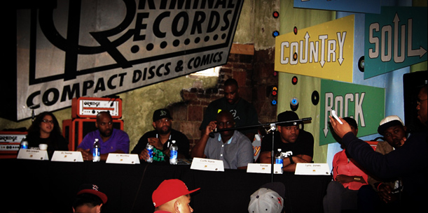 A3C Hip Hop Festival - Regional Sound panel