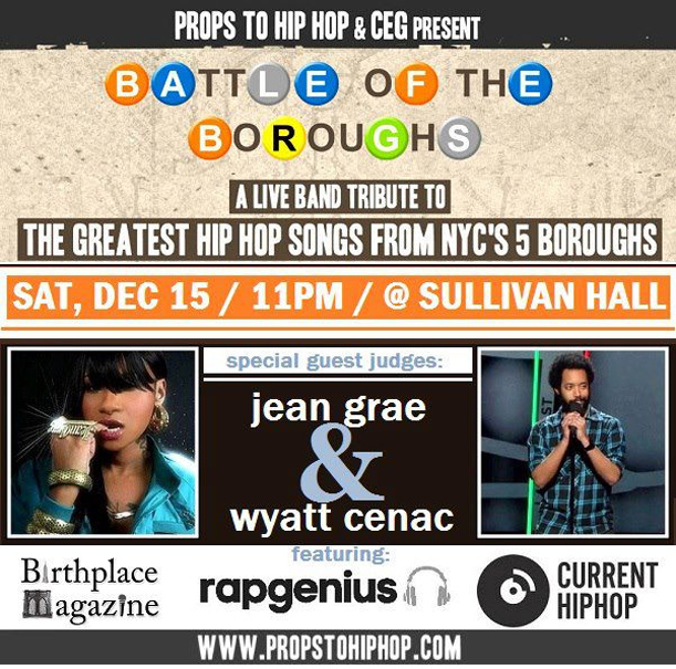 Props To Hip Hop: Battle of the Boroughs