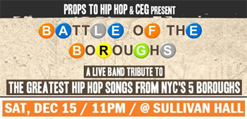 Props to Hip Hop - Battle of the Boroughs