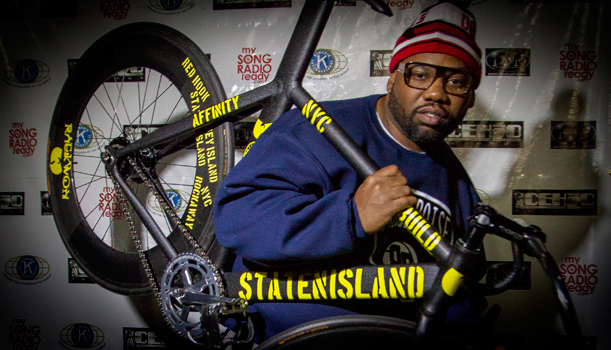 Raekwon Staten Island Hurricane Sandy Benefit Bike