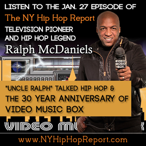 Ralph McDaniels interview - The NY Hip Hop Report