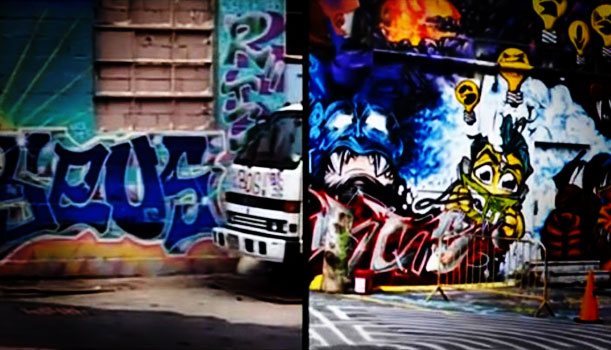 Queens Graffiti - Video