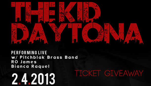 The Kid Daytona, the PitchBlak Brass Band & Special Guests – 2/4/13 at SOBs – TICKET GIVEAWAY