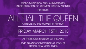 All Hail The Queen: A Tribute to the Women in Hip Hop at the Bronx Museum of the Arts