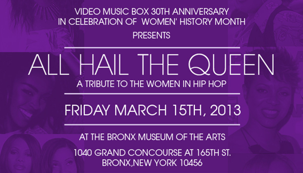 Video-Music-Box-VMB30-Womens-History-Month-March-15th-2013