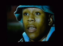 A young LL Cool J, in a scene from the upcoming Video Music Box documentary.