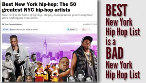 Best New York Hip Hop List is a Bad New York Hip Hop List (Editorial)