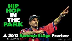 Hip Hop In The Park – SummerStage Concert Series Preview