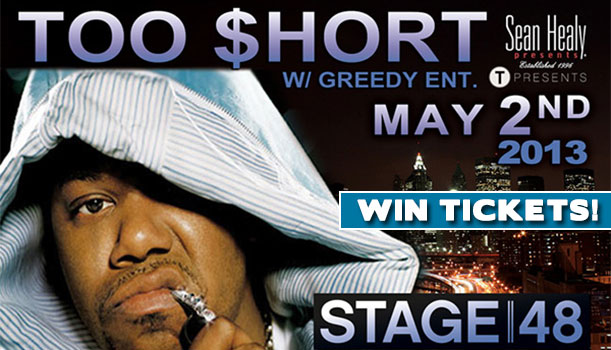 Too Short - Too $hort - New York Concert - Stage 48