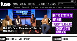 'United States of Hip Hop' on FUSE TV – Be in the Audience!