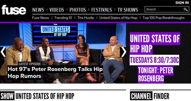 United States of Hip Hop on FUSE