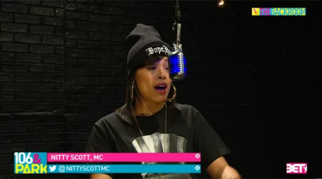 Nitty Scott, MC - BET Backroom Freestyle
