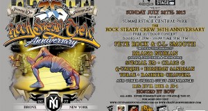 Rock Steady Crew Anniversary - Central Park, 2013