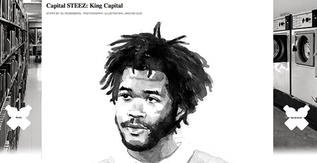 Capital STEEZ - Fader article