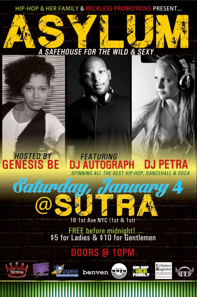 #ASYLUM: A Safehouse for the Wild & Sexy - Monthy at Sutra, NYC - Dance Party
