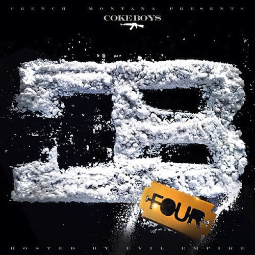 French Montana - Coke Boys 4 - Mixtape cover art