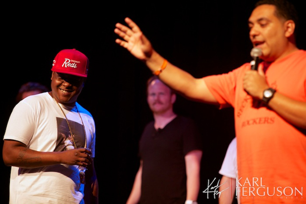 Jadakiss at Take It Personal: Hip Hop Improv