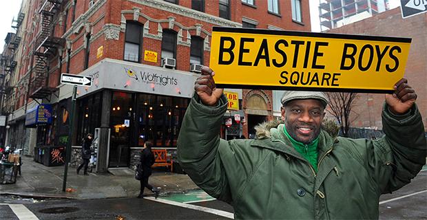 Leroy McCarthy - Beastie Boys Square