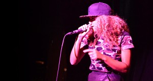 MC Melodee performs at the 2013 CMJ Import/Export: International Hip Hop Showcase