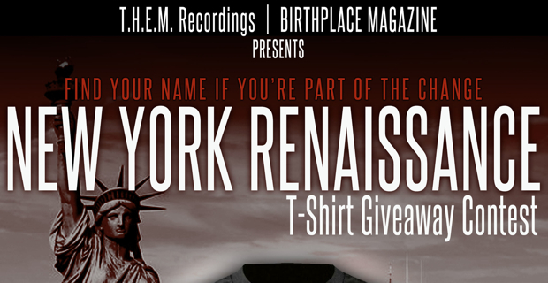 T.H.E.M. Recordings New York Renaissance T-Shirt Contest