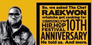 Raekwon - Brooklyn Hip-Hop Festival - Interview