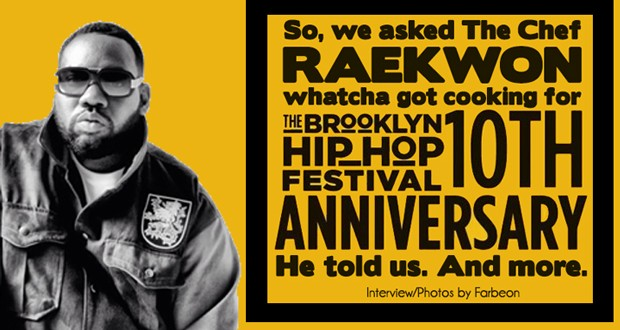 Raekwon - Brooklyn Hip-Hop Festival - Interview