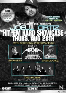 Hit 'Em Hard Showcase feat. @JoellOrtiz @ Arka Lounge | New York | New York | United States