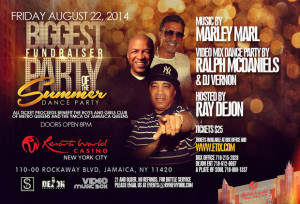 'Biggest Fundraiser of the Summer' Dance Party at @ResortsWorldNYC @ Resorts World Casino | New York | United States