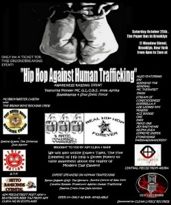 Hip Hop Against Human Trafficking Awareness Event at @PaperBoxNYC @ The Paper Box | New York | United States