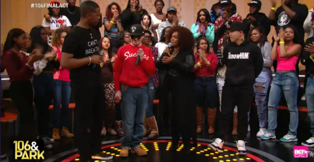 Bet S 106 And Park Ends With Final Freestyle Friday Jin