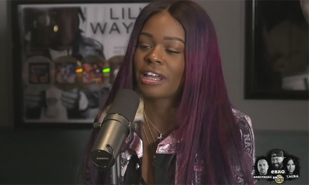 Azealia Banks on Hot 97 interview