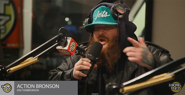 Action Bronson - Freestyle - Funkmaster Flex - Hot 97 - Video