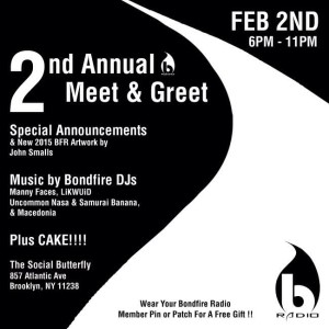 .@BondfireRadio's 2nd Annual Meet & Greet at @socbutterflybk @ The Social Butterfly | New York | United States
