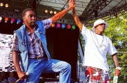 Big Daddy Kane & Rakim at Central Park, NYC (Photo: Manny Faces)
