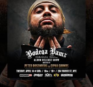 Bodega Bamz - Sidewalk Exec Album Release SOBs