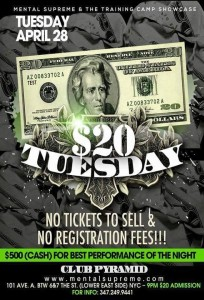 $20 Tuesdays @ Club Pyramid @ Club Pyramid | New York | New York | United States
