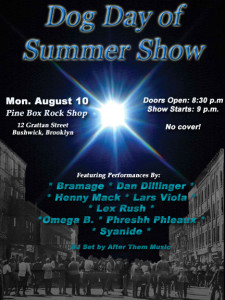 Dog Day of Summer Show @ Pine Box Rock Shop | New York | United States