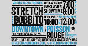 'Stretch and Bobbito: Radio That Changed Lives' NYC Premiere, Q&A @ le poisson rouge
