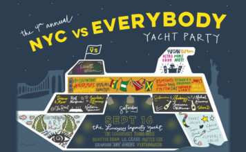 4th annual NYC VS Everybody Yacht Party#VSYacht